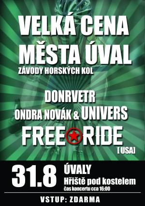 Free Ride -FREE- concerts! AUG 29 AND AUG 31