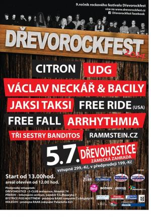 Drevorockfest this Saturday!